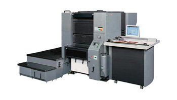 Presstek 52DI Waterless Printing Press
